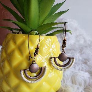 Jewelry - Boho Vintage Bronze drop earrings